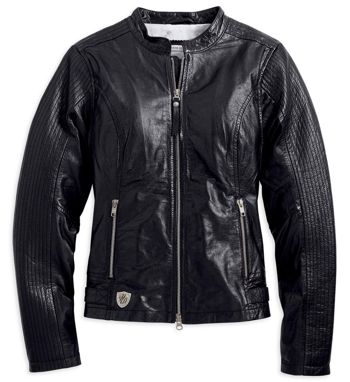 97034 15vw harley davidson callie lederjacke damen im thunderbike shop. Black Bedroom Furniture Sets. Home Design Ideas