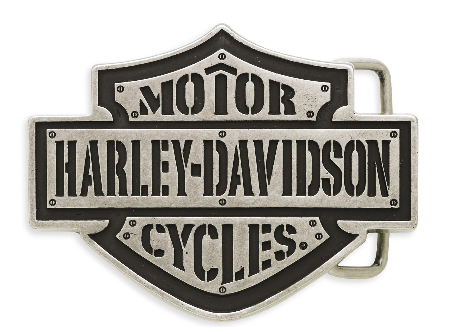 97626 15vm harley davidson bar shield g rtelschnalle im. Black Bedroom Furniture Sets. Home Design Ideas