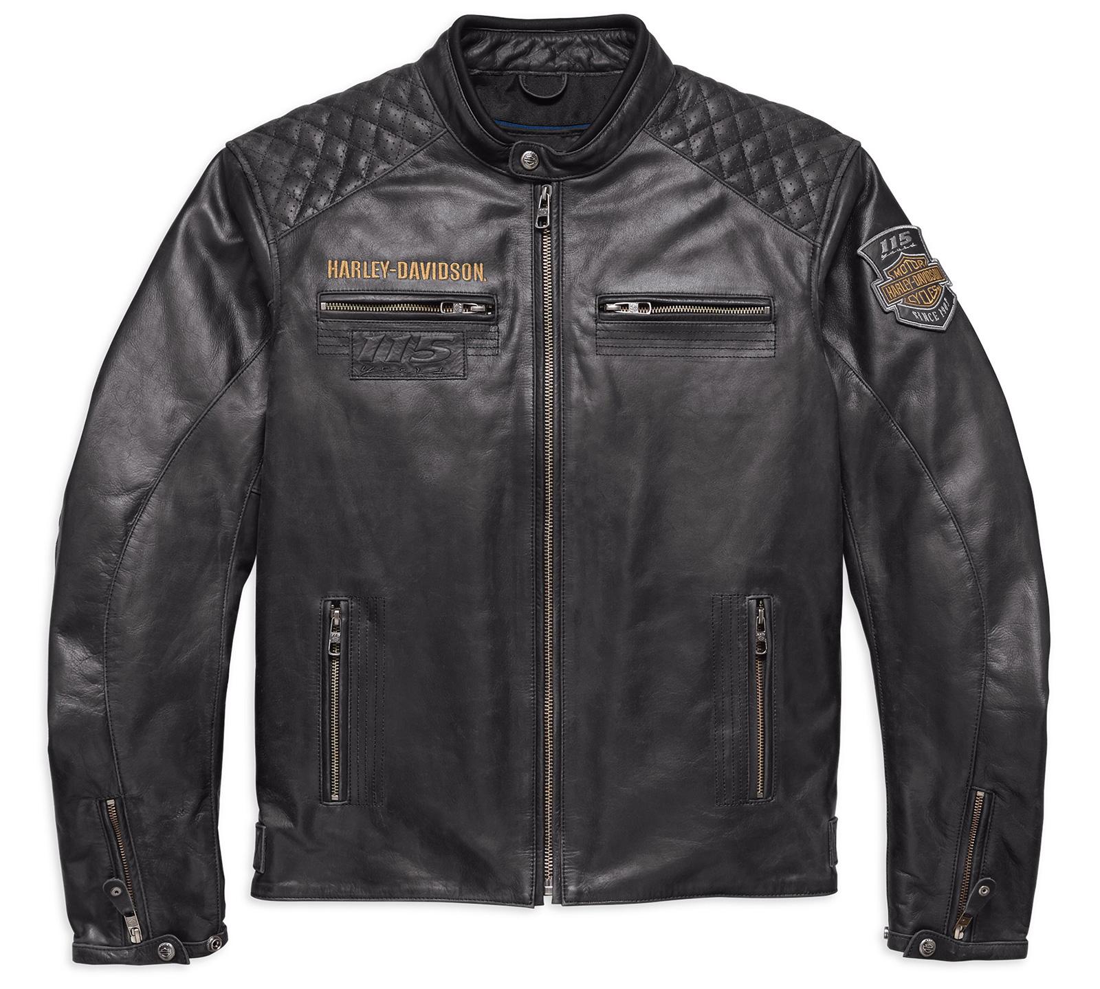 Harley Davidson Leather Jacket  Anniversary