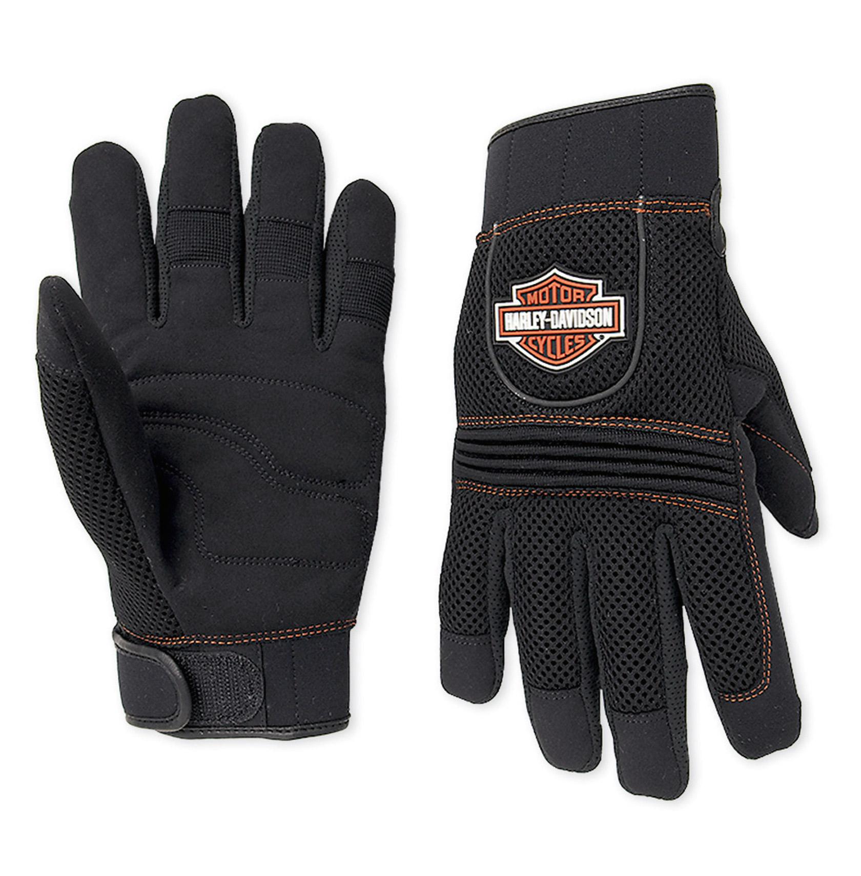 98263 07vm harley davidson handschuhe mesh full finger im. Black Bedroom Furniture Sets. Home Design Ideas