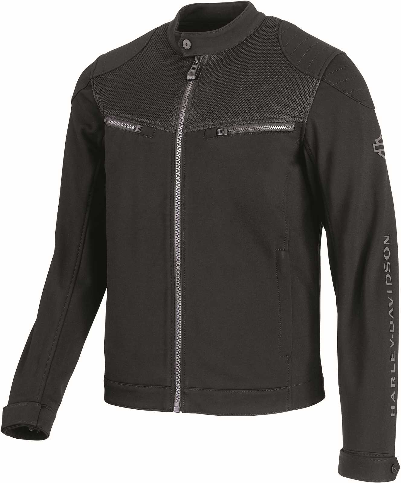 Harley Davidson Softshell Jacket 3D Mesh Accent