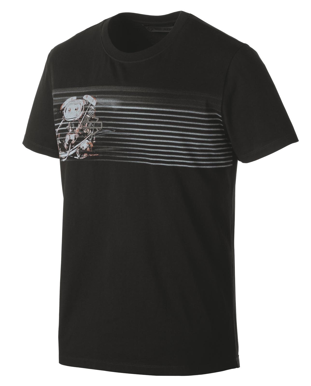 f85f312bb5 ... H-D Motorclothes Harley-Davidson T-Shirt Offset Engine black - 99175-19VM  ...