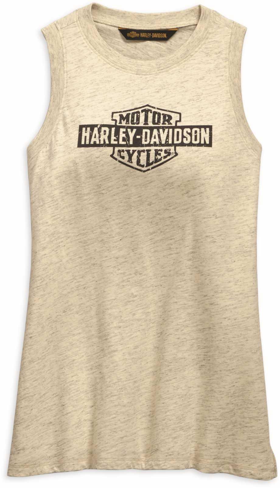 Harley-Davidson Womens Multi-Logo Sleeveless Tank