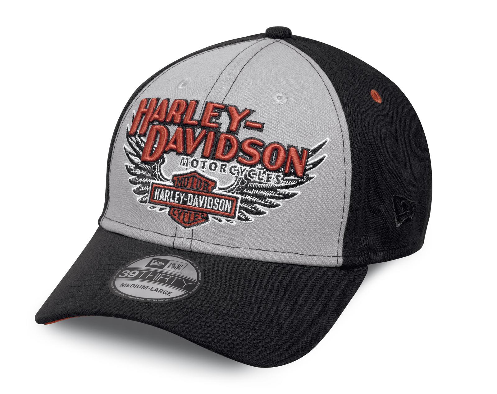 c311b115856 ... H-D Motorclothes Harley-Davidson Eagle 39THIRTY Cap - 99459-17VM ...