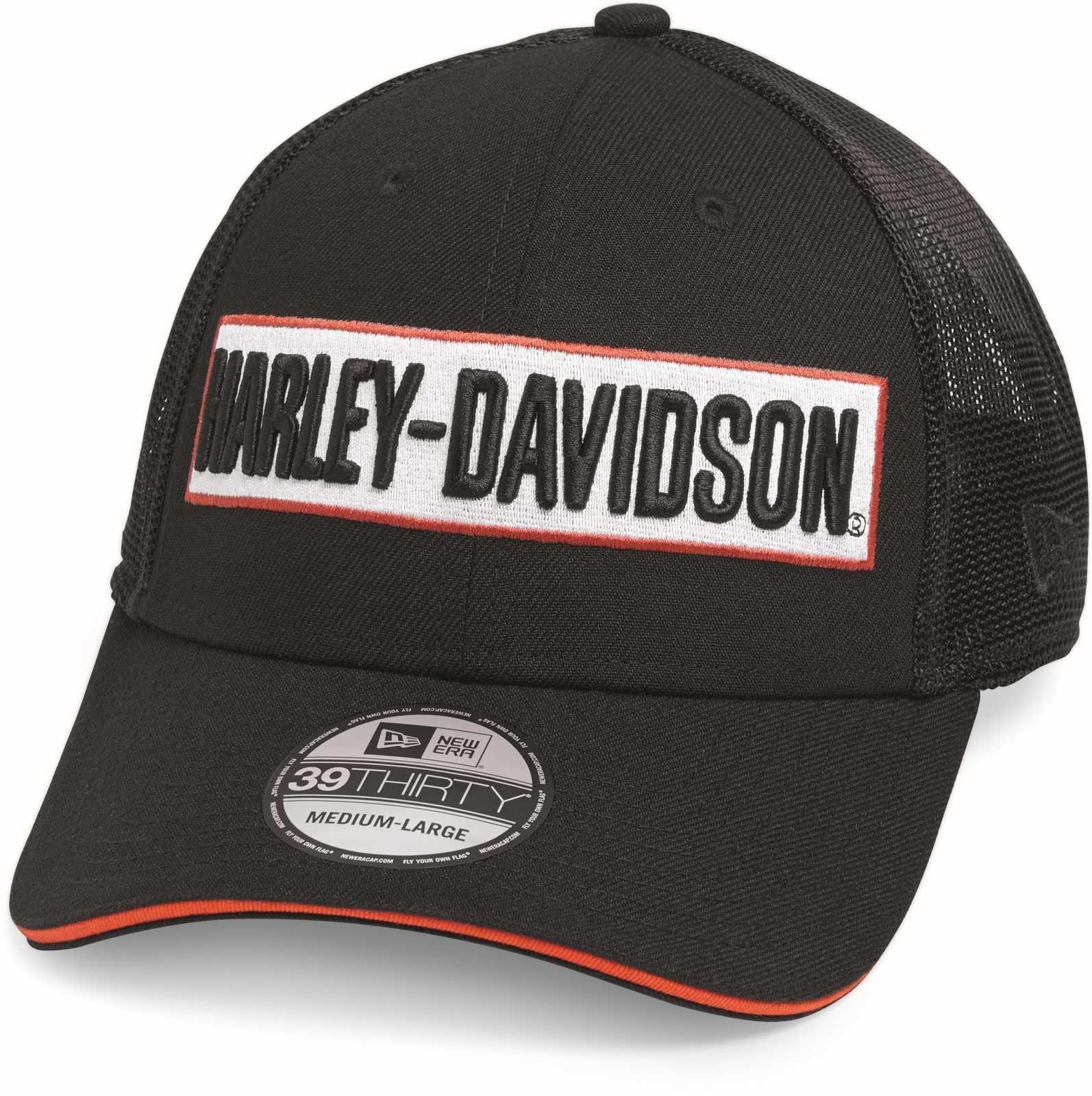 17739f3d3cb ... H-D Motorclothes Harley-Davidson Trucker Cap 39Thirty - 99471-19VM ...