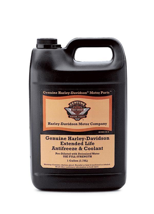 99822 02 genuine harley davidson extended life antifreeze. Black Bedroom Furniture Sets. Home Design Ideas