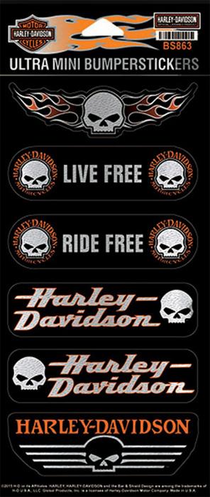 harley davidson aufkleber ultra mini im thunderbike shop. Black Bedroom Furniture Sets. Home Design Ideas