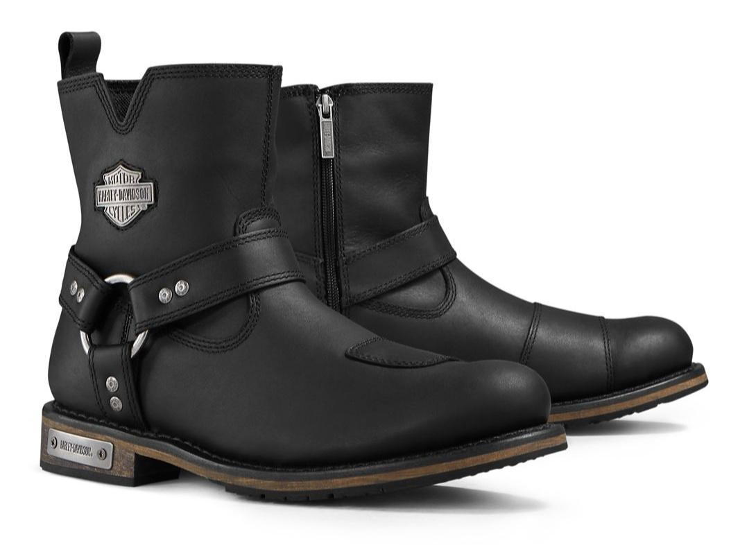 Harley Davidson Stiefel Conklin schwarz