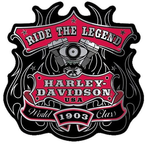 harley davidson aufkleber world class im thunderbike shop. Black Bedroom Furniture Sets. Home Design Ideas