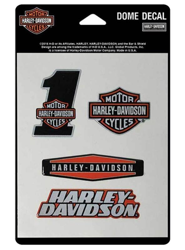 harley davidson aufkleber reflective assortment im. Black Bedroom Furniture Sets. Home Design Ideas