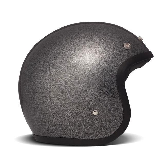 dmd vintage jethelm glitter black thunderbike shop. Black Bedroom Furniture Sets. Home Design Ideas