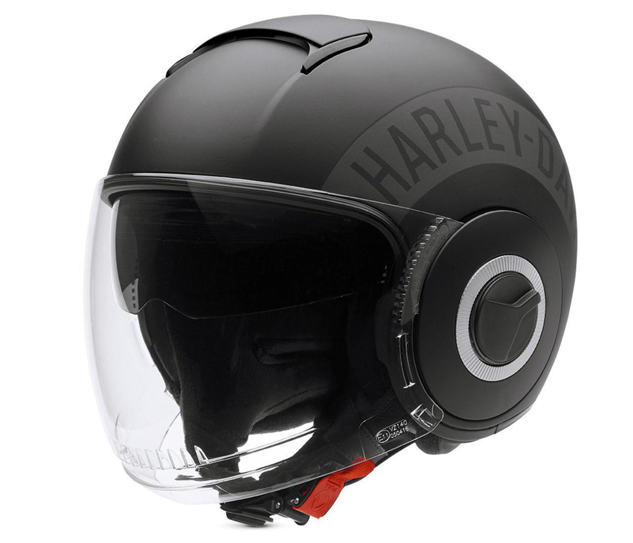 ec 98315 15e harley davidson helm commuter 3 4 matt. Black Bedroom Furniture Sets. Home Design Ideas