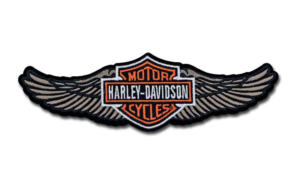 harleydavidson aufn228her straight wing im thunderbike shop