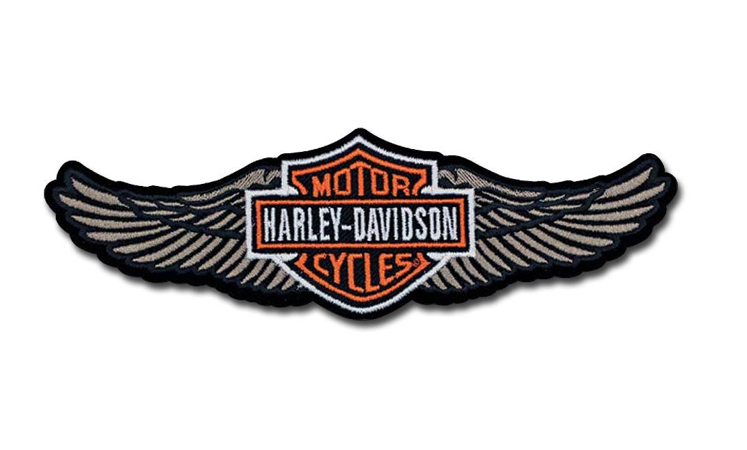 harley davidson aufn her straight wing im thunderbike shop. Black Bedroom Furniture Sets. Home Design Ideas