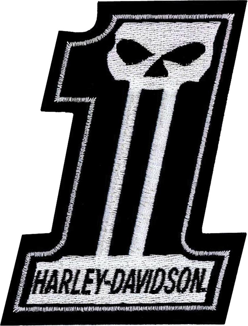 harley davidson aufn her skull eins im thunderbike shop. Black Bedroom Furniture Sets. Home Design Ideas