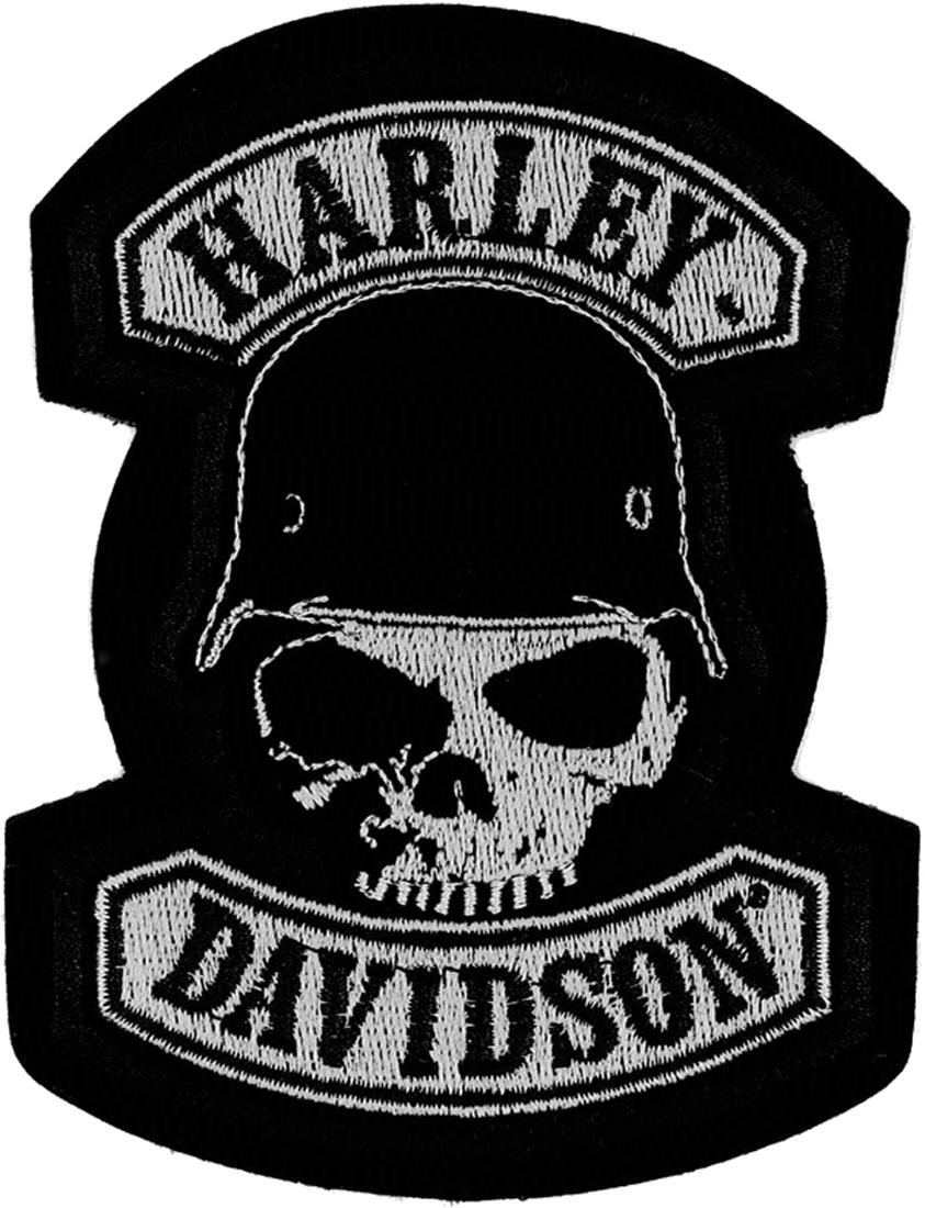 harley davidson aufn her spike im thunderbike shop. Black Bedroom Furniture Sets. Home Design Ideas