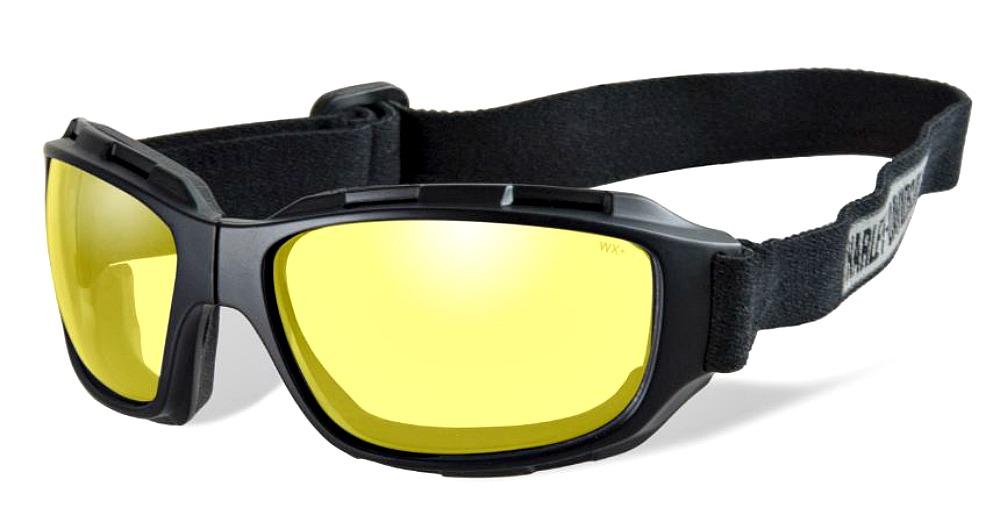harley davidson wiley x brille bend gelb im thunderbike shop. Black Bedroom Furniture Sets. Home Design Ideas