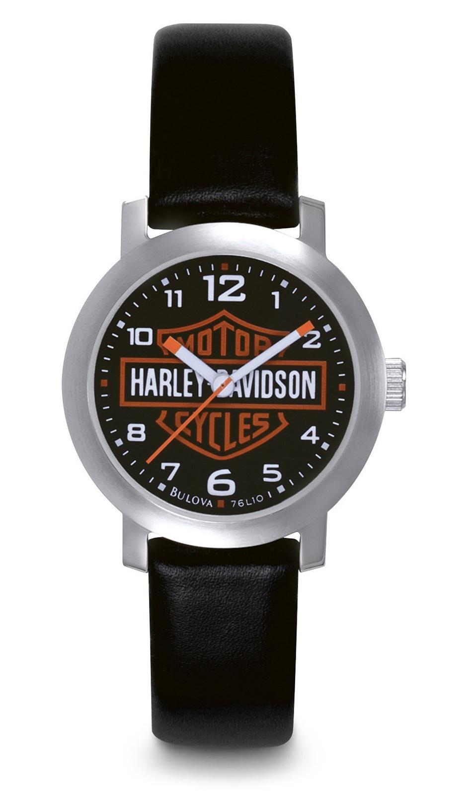 harley davidson damen uhr bar shield im thunderbike shop. Black Bedroom Furniture Sets. Home Design Ideas