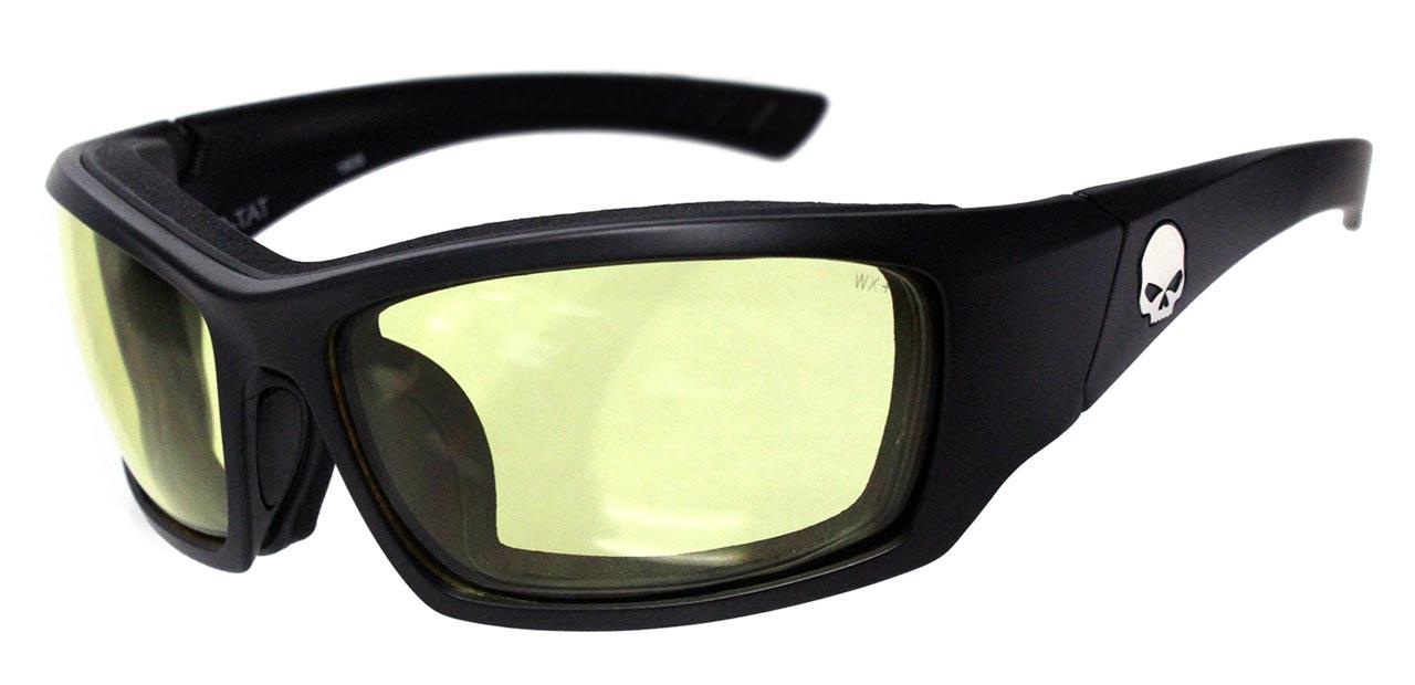 harley davidson brille tat gelb im thunderbike shop. Black Bedroom Furniture Sets. Home Design Ideas