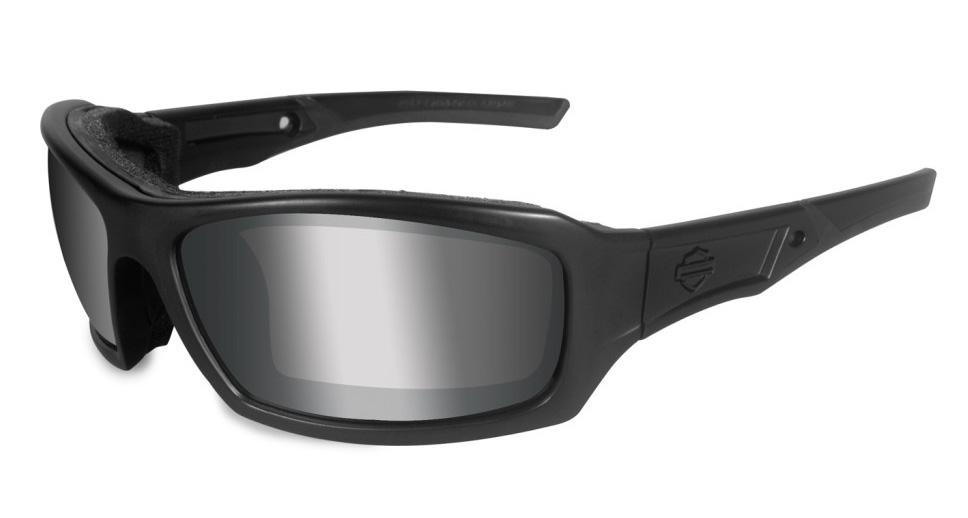 Harley-davidson Wiley X HD-Rage X Smoke Grey Silver Flash Motorcycle Glasses