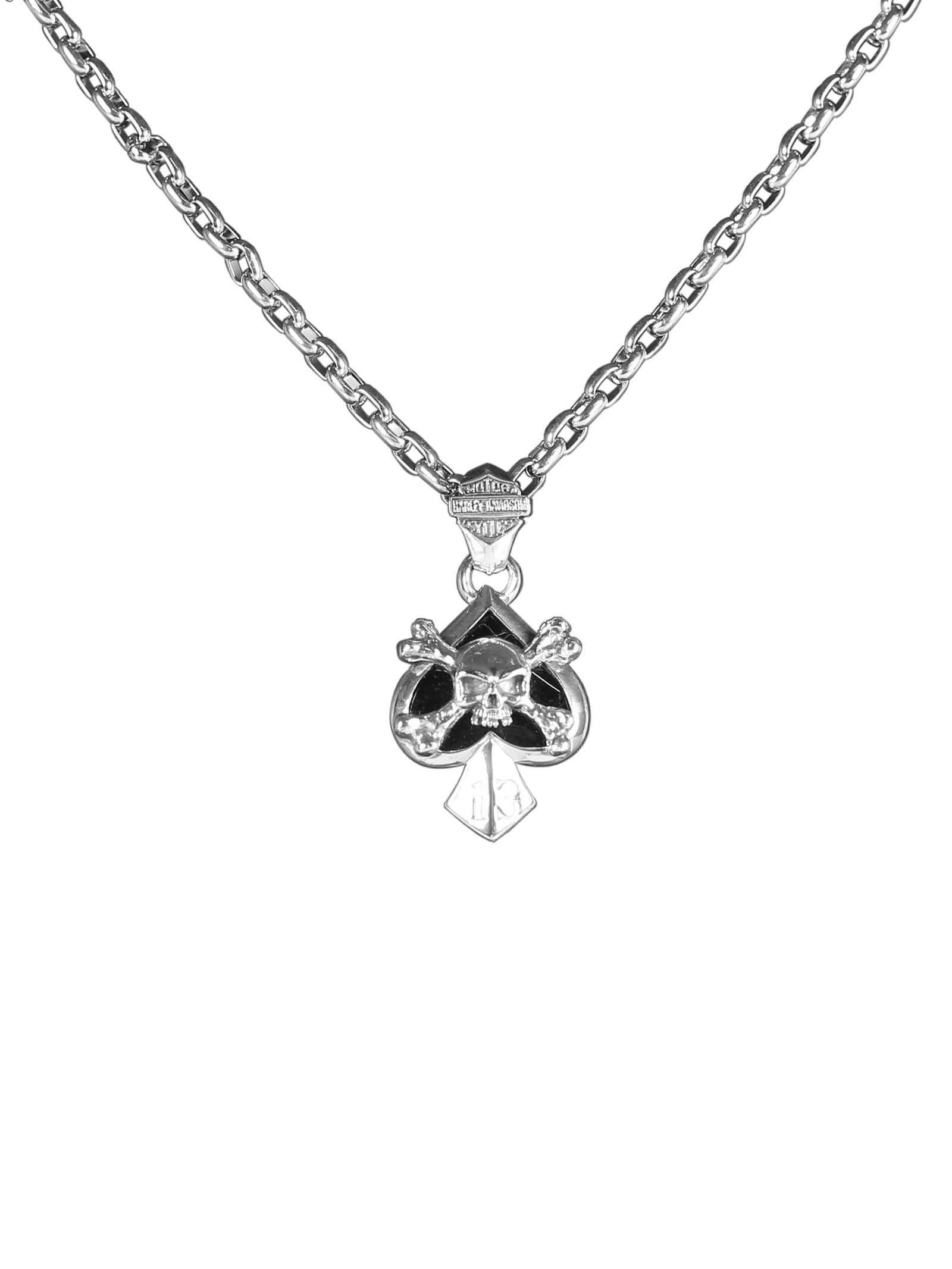 Harley davidson pendant silver at thunderbike shop for Irish jewelry stores in nj