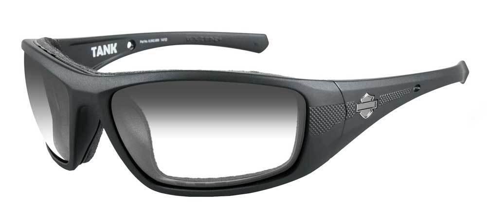 harley davidson brille tank schwarz matt im thunderbike shop. Black Bedroom Furniture Sets. Home Design Ideas
