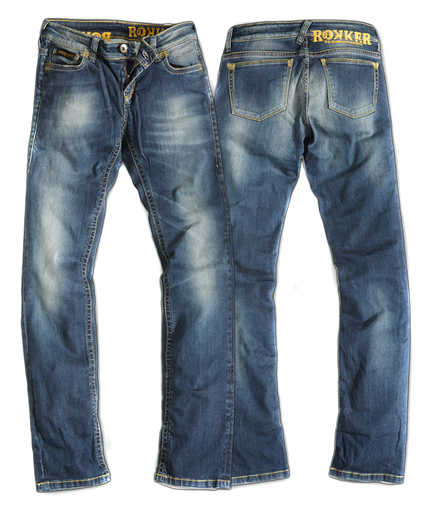 rokker jeans the diva kevlar damen motorradhose. Black Bedroom Furniture Sets. Home Design Ideas