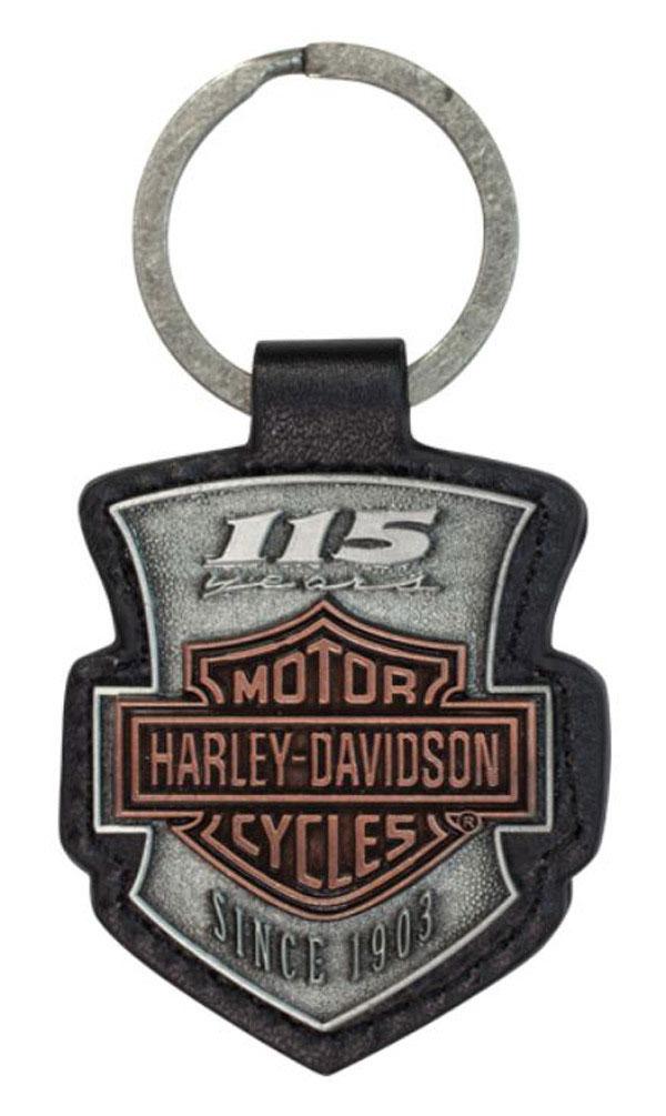 harley davidson schl sselanh nger 115 font im thunderbike shop. Black Bedroom Furniture Sets. Home Design Ideas