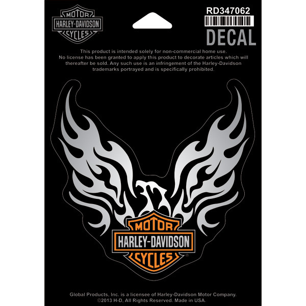 harley davidson aufkleber phoenix eagle im thunderbike shop. Black Bedroom Furniture Sets. Home Design Ideas