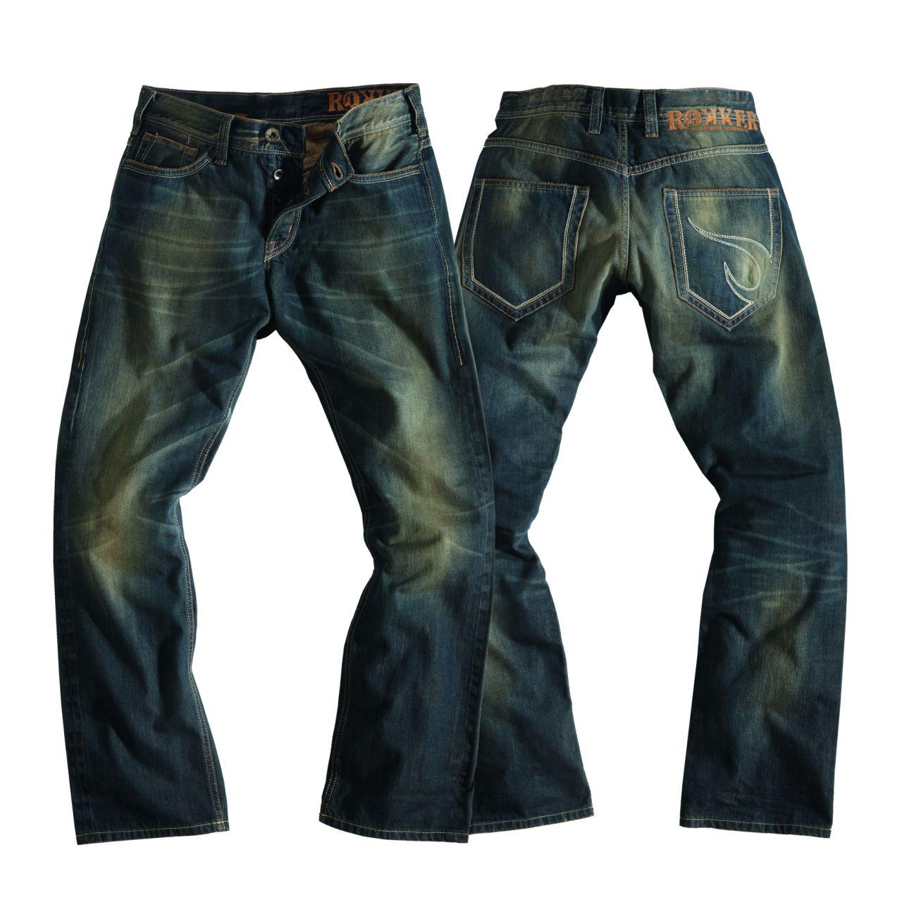 rokker jeans red selvage slim fit im thunderbike shop. Black Bedroom Furniture Sets. Home Design Ideas