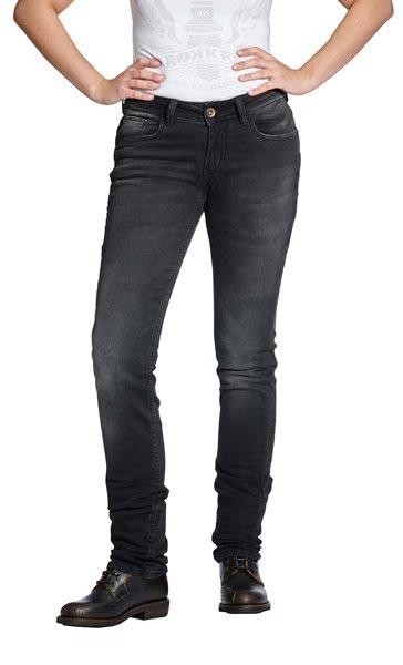 rokker the donna damen kevlar jeans schwarz bei thunderbike. Black Bedroom Furniture Sets. Home Design Ideas