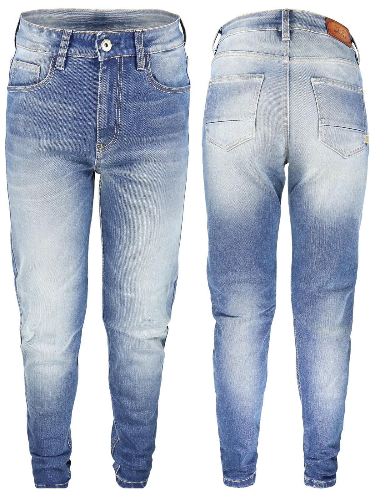 637677d9fa098 ... Rokker Rokkertech High Waist Damen Jeans - ROK2412 ...