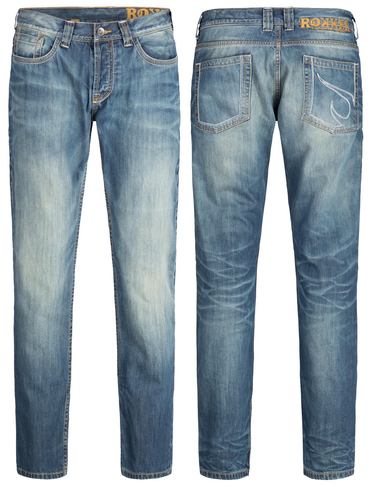rokker jeans the rebel comfort fit 34 32 im thunderbike shop. Black Bedroom Furniture Sets. Home Design Ideas