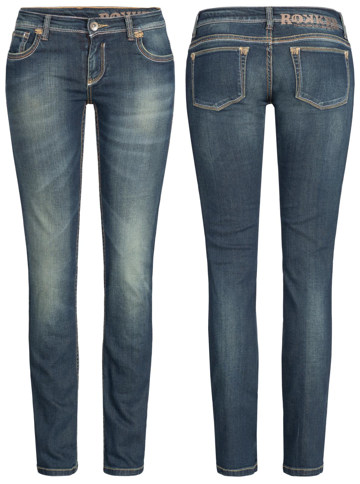 906a8bc7076e Rokker Jeans The Diva Kevlar Damen Motorradhose