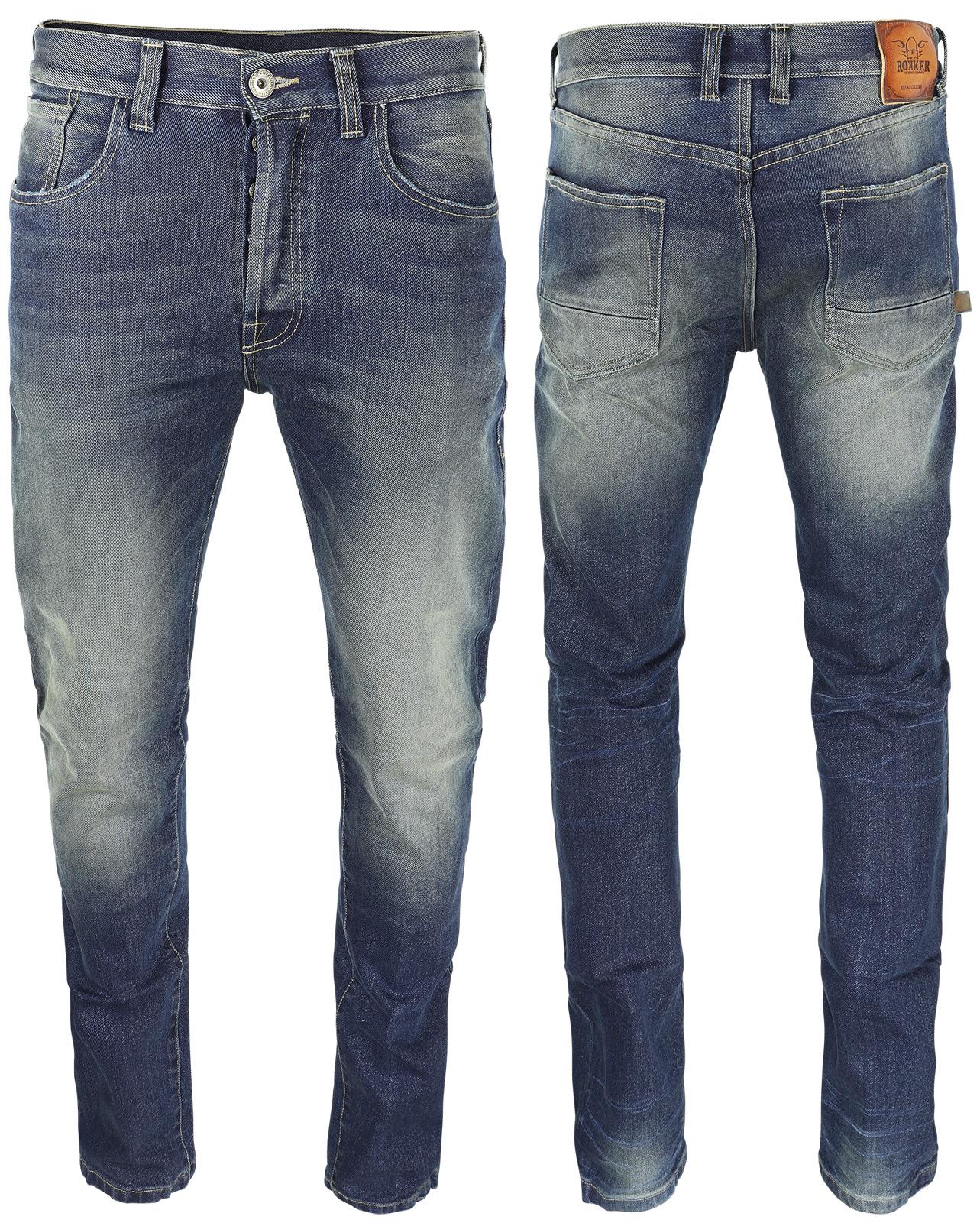 rokker rokkertech kevlar jeans slim stretch at thunderbike. Black Bedroom Furniture Sets. Home Design Ideas