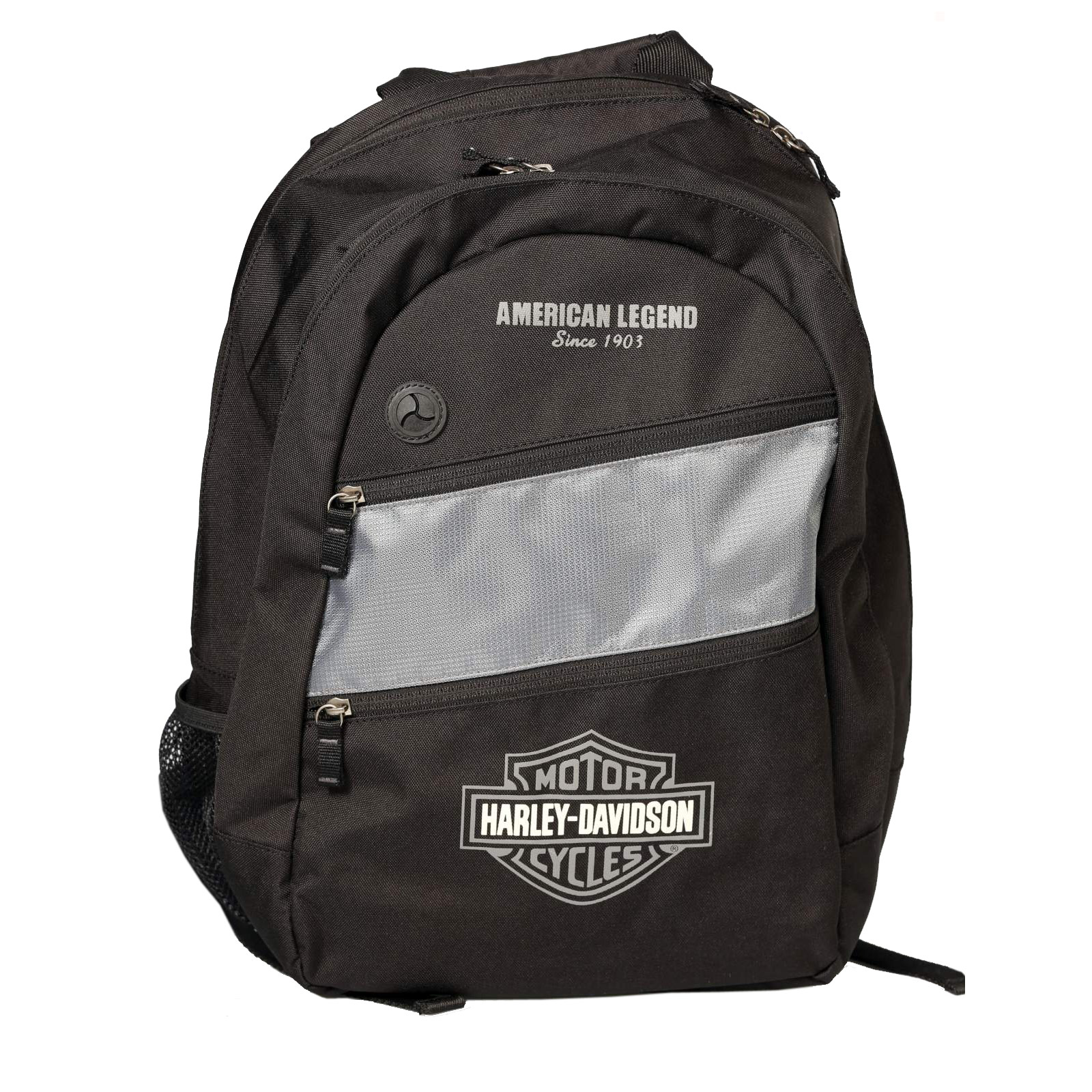 harley davidson day pack backpack grey black at. Black Bedroom Furniture Sets. Home Design Ideas