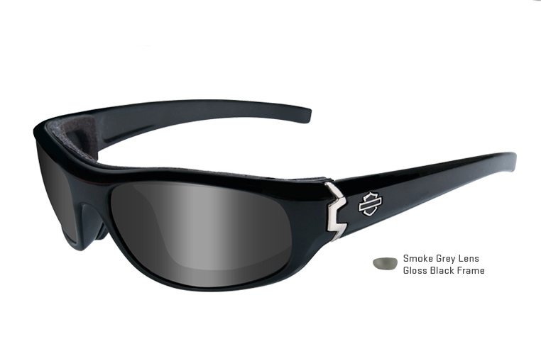 harley davidson wiley x curve sunglasses smoke at