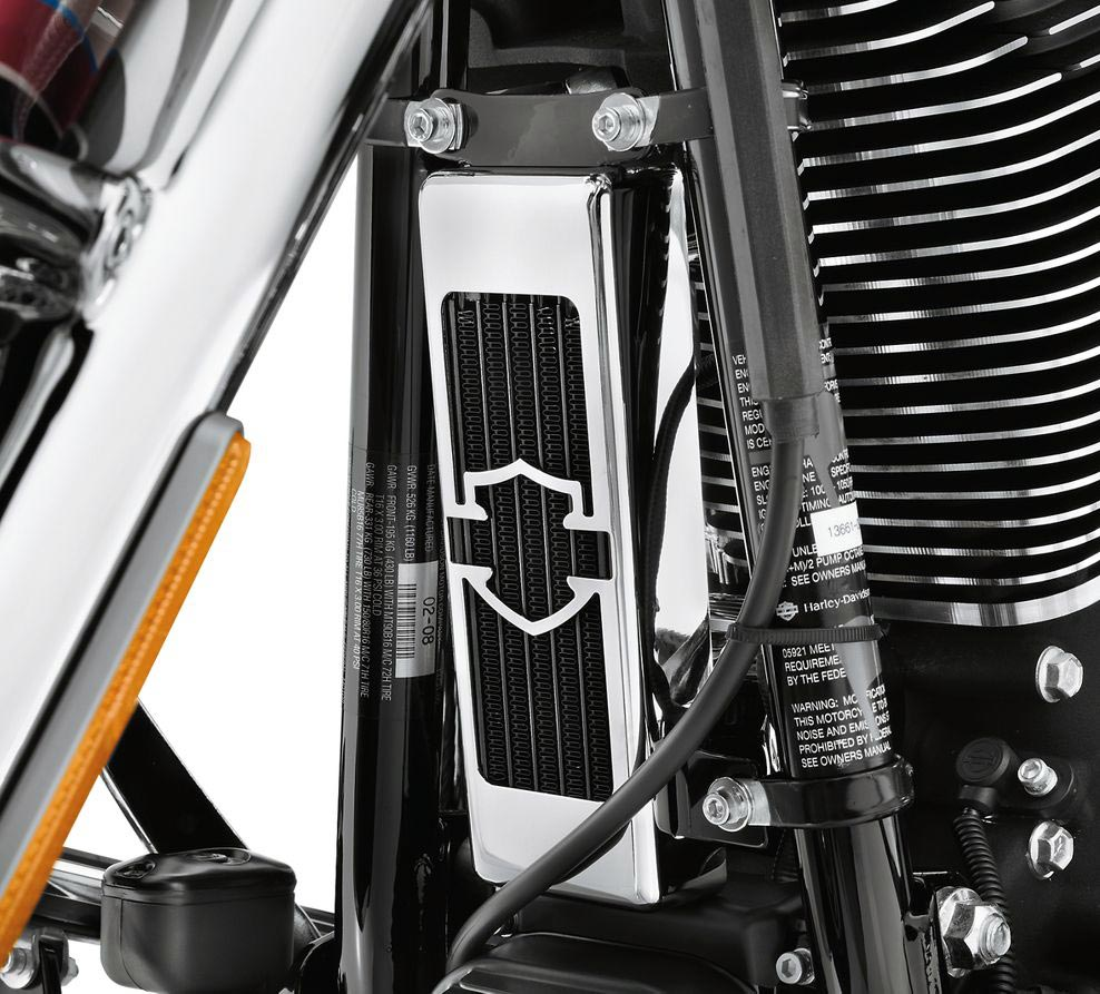 Harley Engine Oil Coolers : A premium oil cooler kit for softail models at