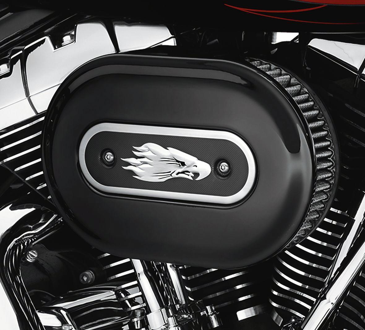 28722 >> Screamin Eagle Ventilator Performance Air Cleaner Kit Gloss Black