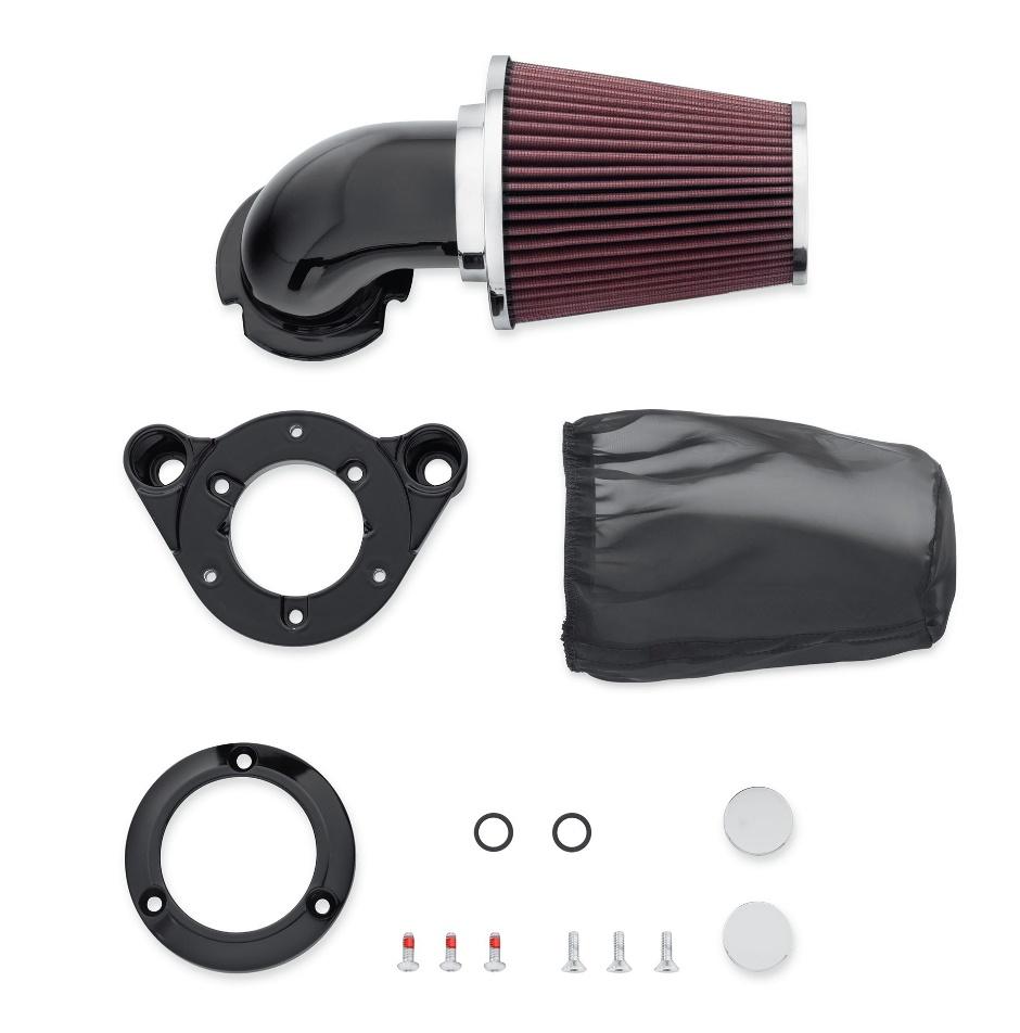 Harley-Davidson Screamin' Eagle Heavy Breather Performance Air Cleaner Kit  Gloss Black - 29080 ...