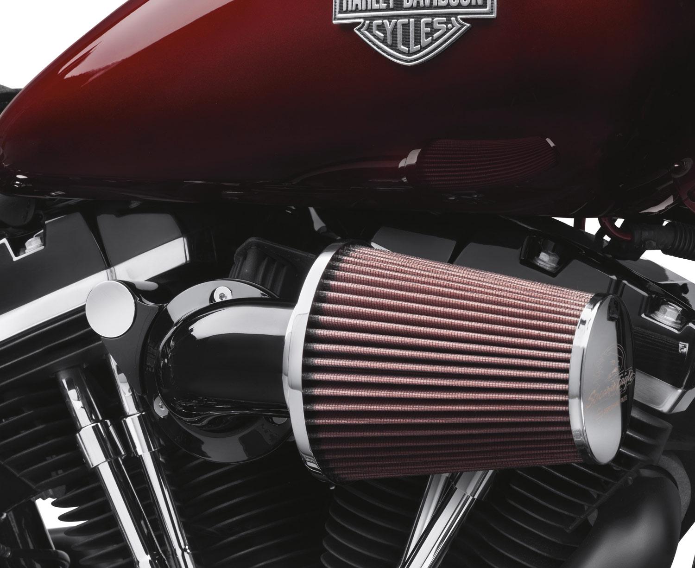 Semi Air Breather : Screamin eagle heavy breather performance air