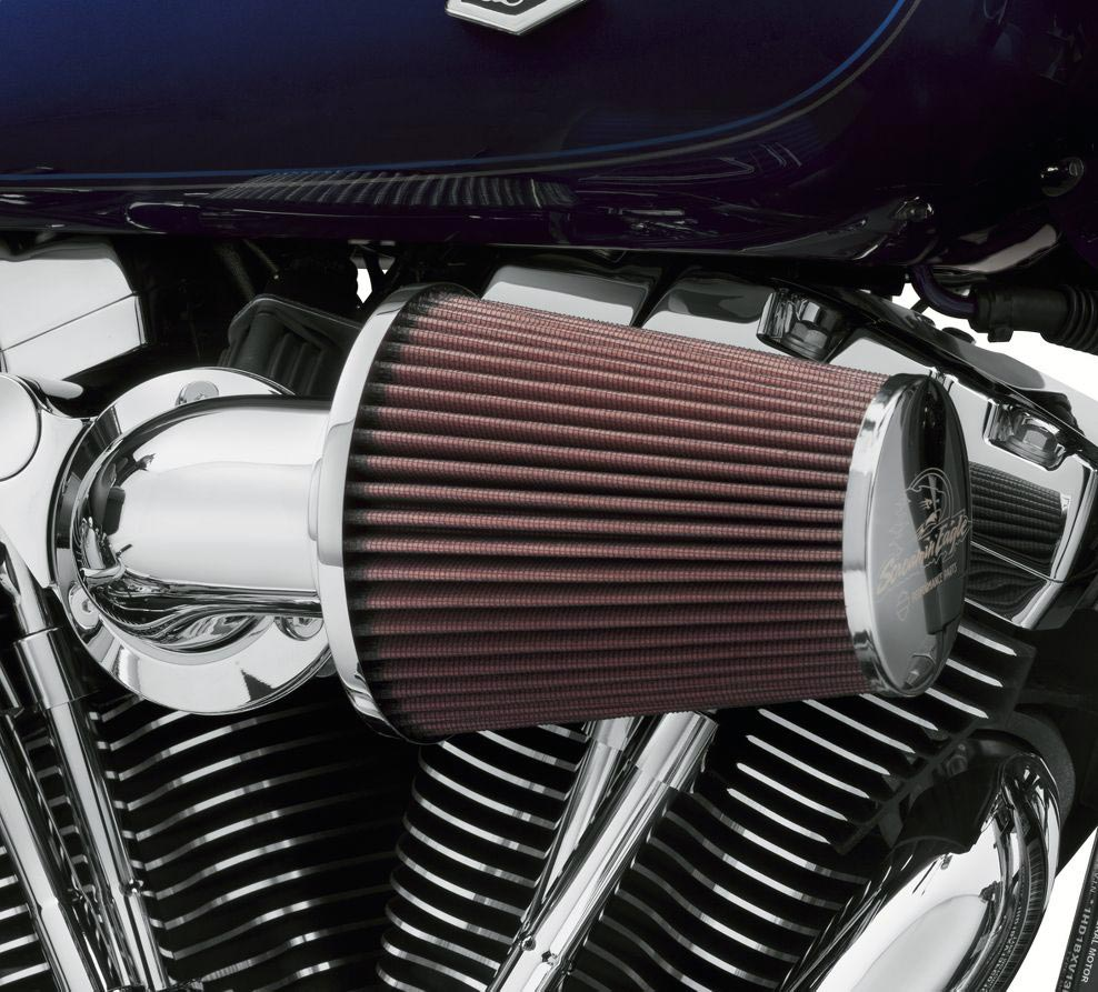 Harley Davidson Performance Air Cleaner : Screamin eagle heavy breather performance air