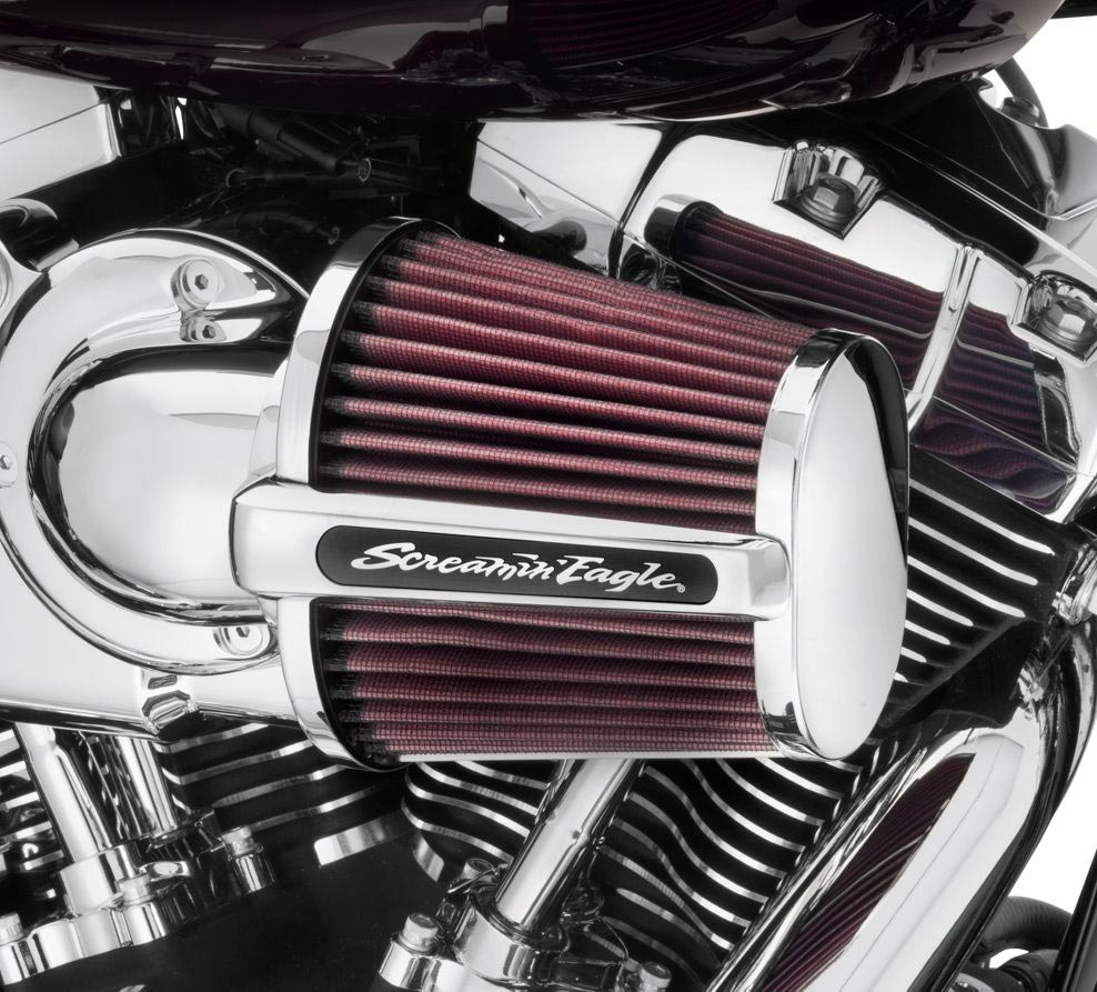 High Flow Air Cleaner Kit Harley Davidson For Cvo Touring