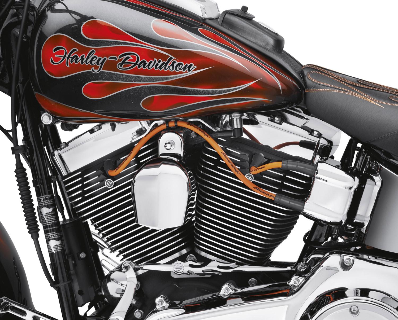 32360 00c Screamin Eagle 10mm Phat Spark Plug Wires Orange At Tach Wiring Harley Davidson