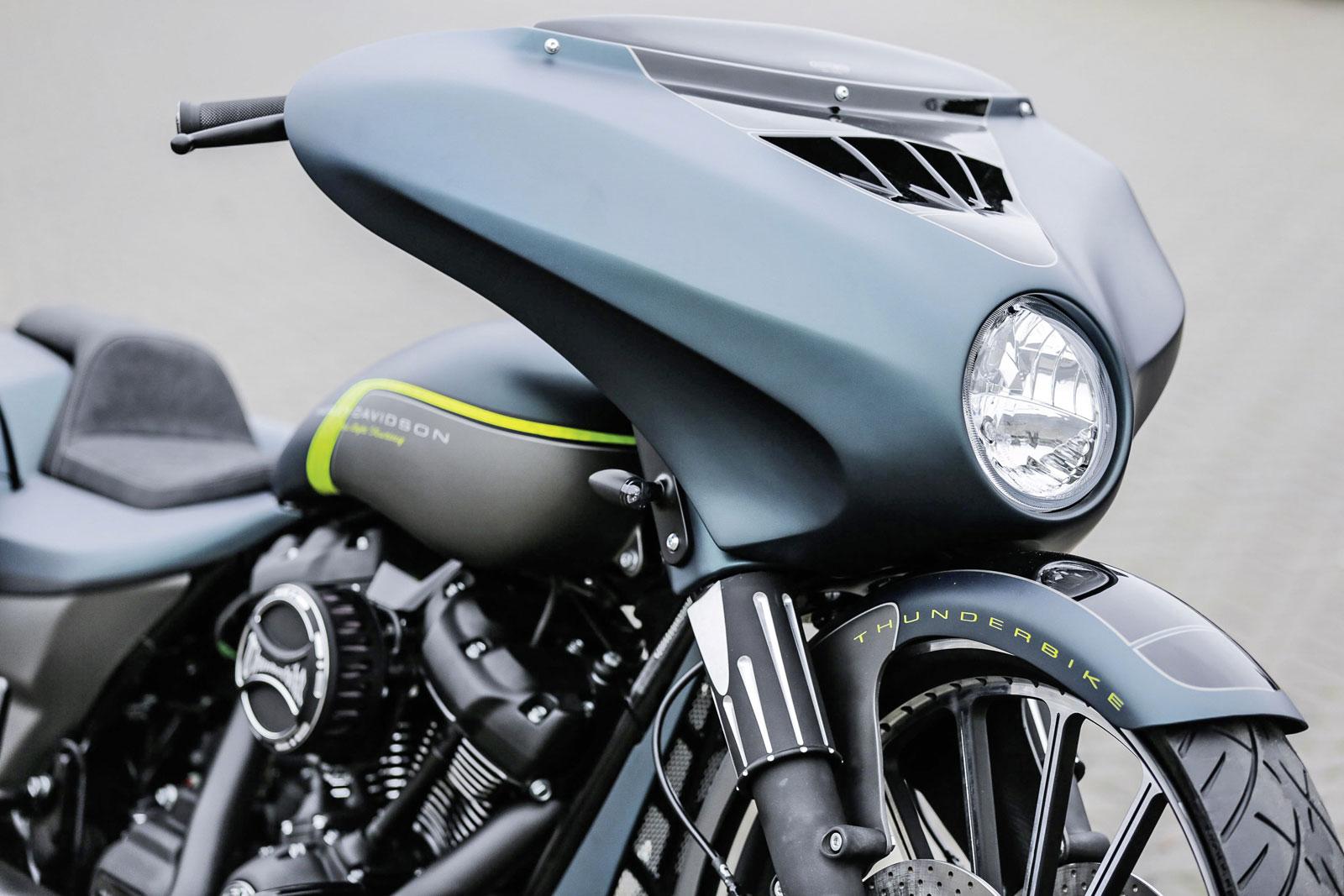 Thunderbike LED Motorradblinker Zeppelin mit M10 Gewinde