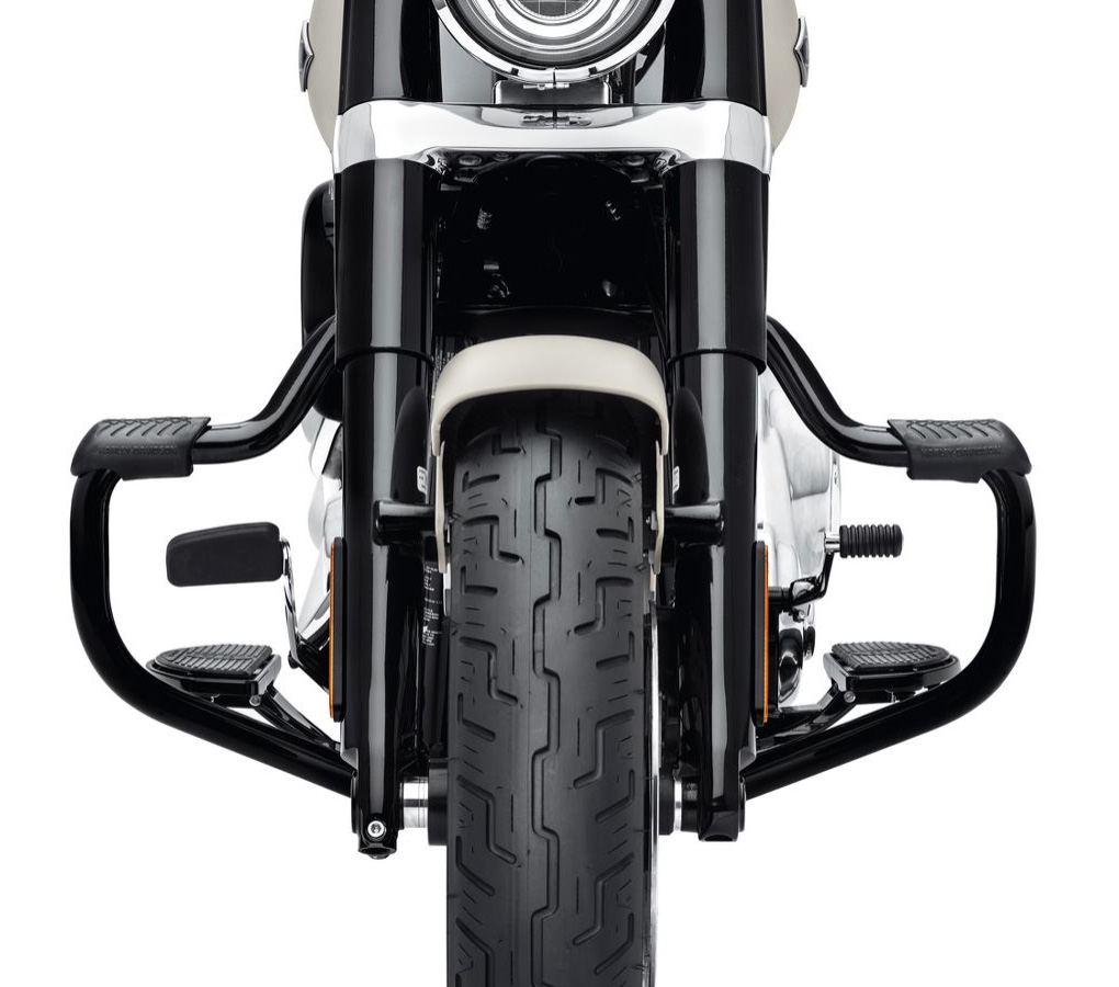 Harley-Davidson Mustache Motorschutzbügel, schwarz - 49000141
