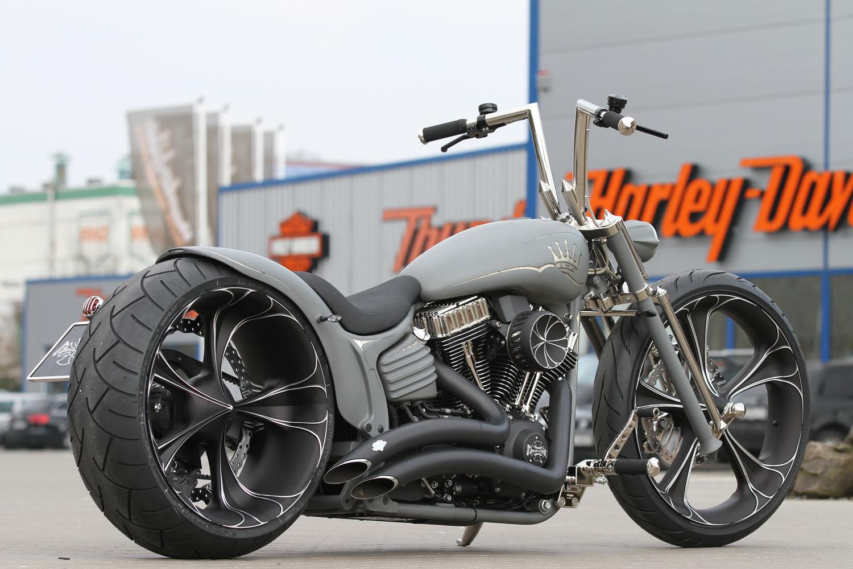 Thunderbike Handlebar Flip chrome for Harley-Davidson