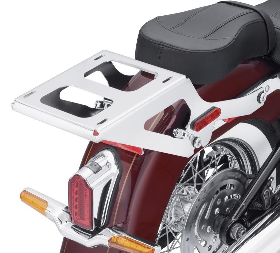 50300186 HoldFast Two-Up Tour-Pak Mounting Rack chrom im Thunderbike ...