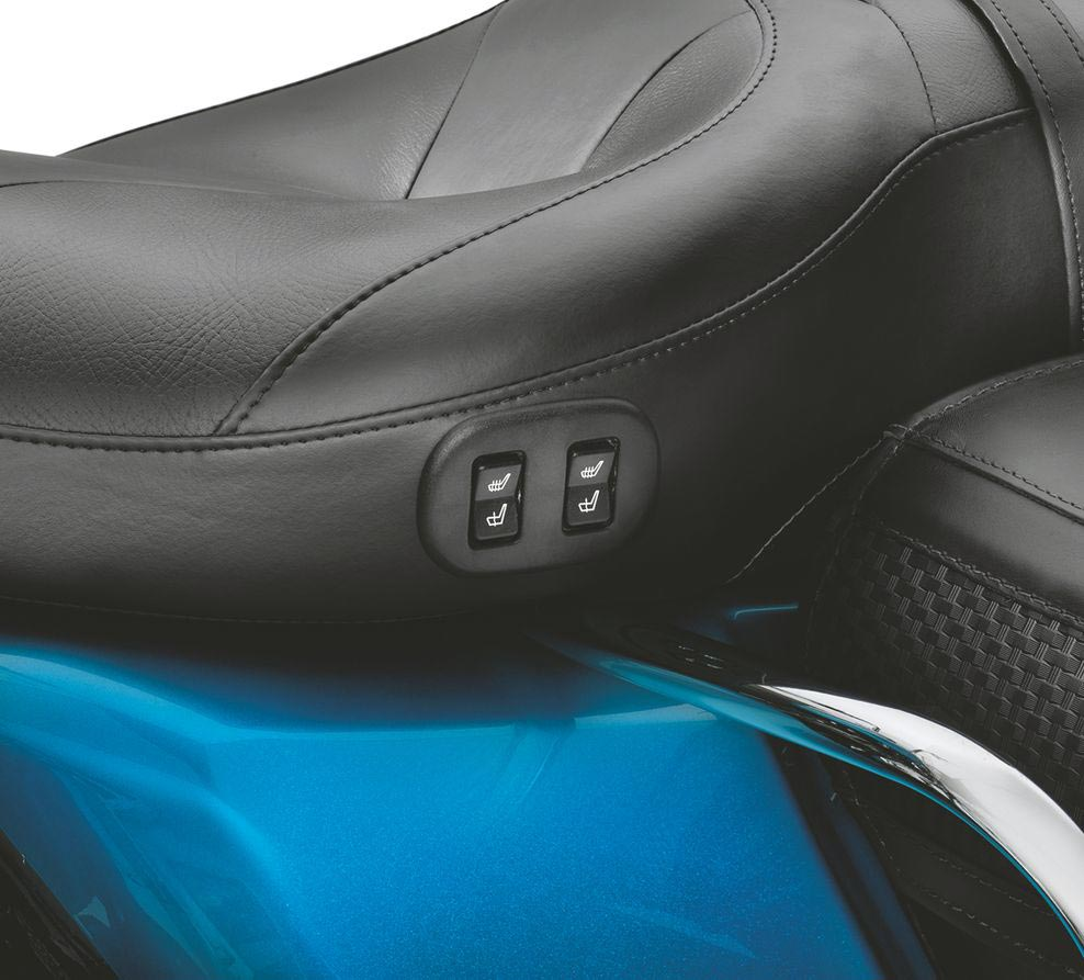 "... Harley-Davidson Hammock Heated Rider & Passenger Seat 17.5"" - 52000004A  ..."