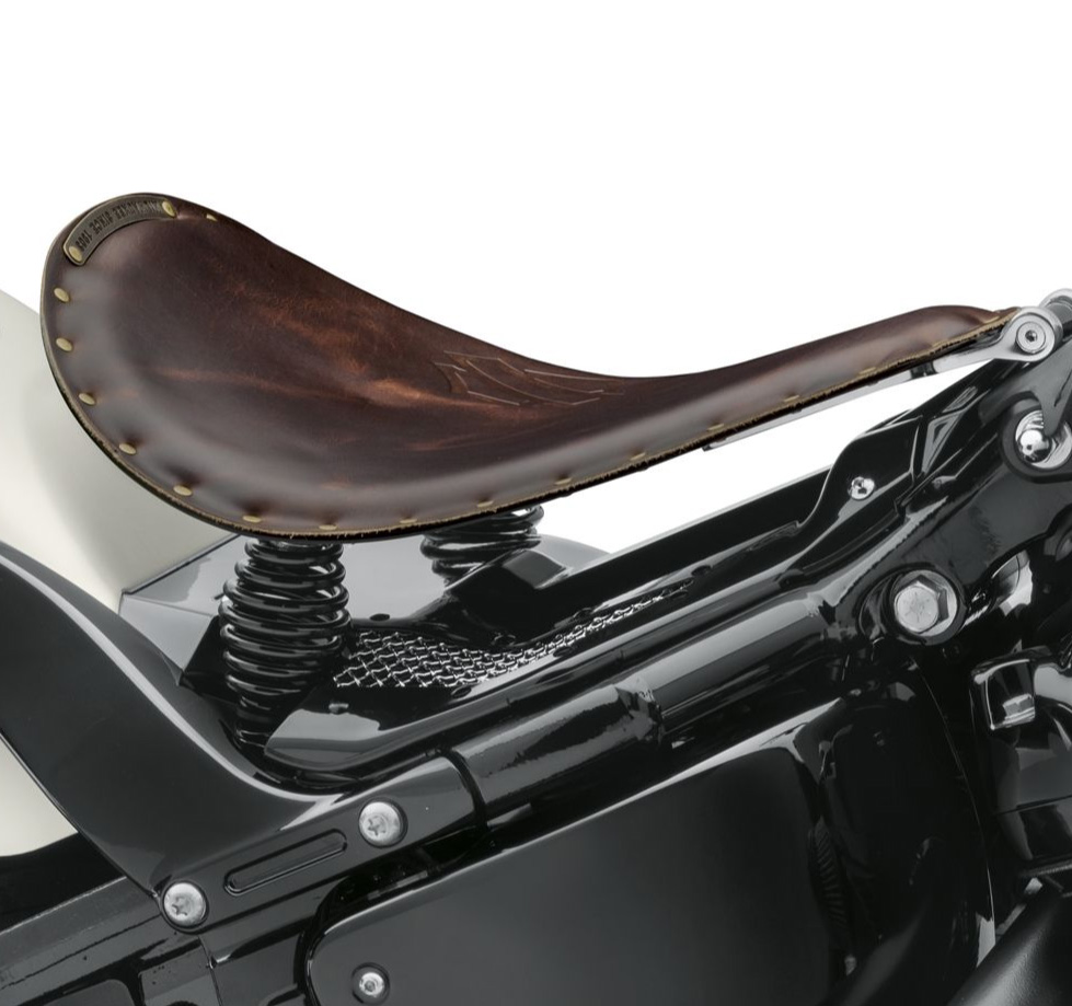 52000381 Bobber Solo Sattel Leder braun im Thunderbike Shop